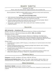 Elements Of A Good Resume Topic Related To Examples For College Students Sample Resumes Engineer Template