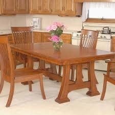 New Mission Dining Room Furniture Plans Throughout Brownstone Table