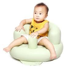 bain de siege pvc bébé canapé gonflable enfants formation bain de siège à manger