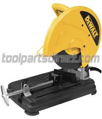 Dewalt Wet Tile Saw Canada by Dewalt D870 04 Type 2 Chop Saw Canada Dewalt Parts Tool Parts Direct