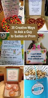 35 Creative Ways To Ask A Guy Sadies Or Prom
