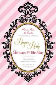 Ballerina Birthday Invitations Party Supplies Invitation