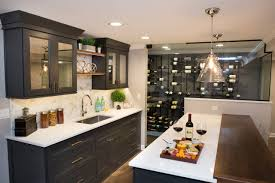 Advance Designing Ideas For Kitchen Interiors 75 Beautiful Home Bar With Black Cabinets Pictures Ideas