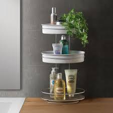 3 etagen bad regal badezimmer duschkorb standregal korb ablage stehend