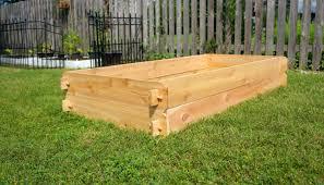 Raised Garden Planter Bed Flower Box Cedar and 19 similar items
