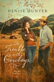 Blog Tour Stop Book Review The Trouble With Cowboys By Denise Hunter Kindle Fire Giveaway
