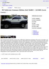 For $13,500, This 1999 Isuzu VehiCROSS Could Let You Pretend You ... 1969 Dodge A100 Van For Sale In San Diego California 11500 Oregon Senate Passes Bill Limiting Local Government Drone Use 13500 This 1999 Isuzu Vehicross Could Let You Pretend Courtesy Chevrolet Is A Dealer And Craigslist Hudson Valley Used Cars Image 2018 6000 2000 Bmw 540i Is Said To Be Good As New Adam Carollas Insanely Rare Vintage Lamborghini Collection 2004 Mini Cooper S With Turbo Chevy V8 Engine Swap Depot Antonio Tx And Trucks Beautiful Free Under 750 Dollars Youtube