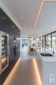 led beleuchtung in der modernen küche kitchen led le
