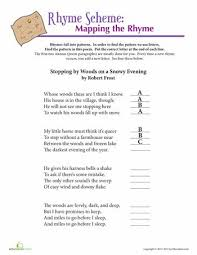 Robert Frost Rhyme Scheme