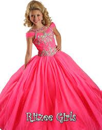 ritzee girls pageant dress 6572