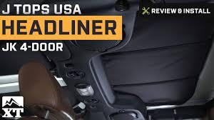 Jeep Wrangler J Tops USA Headliner (2007-2016 4-Door JK) Review ...