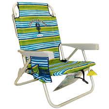 i want tommy bahama backpack beach chair green stripe