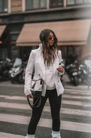 100 Gabrielle Morrison Sosken Blazer White Stripe Gabrielle Chanel Bag Acne Ice