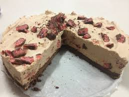 Cherry Ripe Cheesecake No Bake Recipe