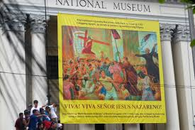 Big Ang Mural Petition by Feast Of The Black Nazarene Catholics U0026 Cultures