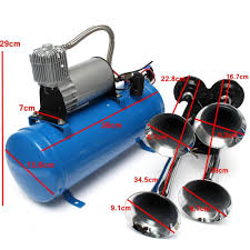 Philippines | 4 Trumpet Vehicle Air Horn 12V/24V Compressor Tubing ... Philippines 4 Trumpet Vehicle Air Horn 12v24v Compressor Tubing Hornblasters Jackass 228v Kit Best Rated In Horns Helpful Customer Reviews Amazoncom Universal Fourtrumpet Air Train Horn For Cartruckboat Kleinn Pro Blaster Train Kits Hella Dual 24v Autoelec Warehouse Online Shop 12v Car Boat Truck 178db Tone Complete System With Compressor Tank And New Chrome W 150 Psi 3 Liter Malaysia Loud Easy To Fit Tech 12v Truck Youtube