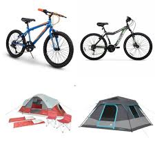 100 Ozark Trail Dome Truck Tent Pallet 9 Pcs Cycling Bicycles Customer Returns