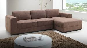 canapé d angle marron canapé d angle haut de gamme en tissu marron