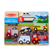Melissa & Doug Wooden 8-Piece Vehicle Favorites Chunky Puzzle ... Melissa Doug Fire Truck Floor Puzzle Chunky 18pcs Disney Baby Mickey Mouse Friends Wooden 100 Pieces Target And Awesome Overland Park Ks Online Kids Consignment Sale Sound You Are My Everything Yame The Play Room Giant Engine Red Door J643 Ebay And Green Toys Peg Squirts Learning Co Truck Puzzles 1