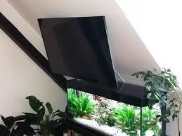 tv wandhalterung für dachschrä cmb angleflip schräge