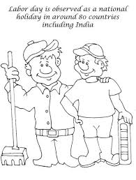 Labor Day Celebrated In Around 80 Countries Coloring Page