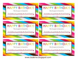 Coupon Birthday - Parker Coffee