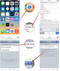 How to reset a forgotten iCloud iTunes or App Store password on