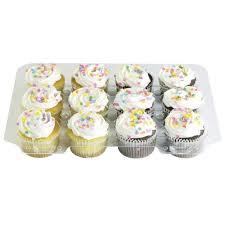 Assorted Mini Cupcakes 12 Pack