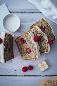himbeerkuchen als himbeer mohn kastenkuchen mit oder ohne marzipan simple raspberry poppy seed