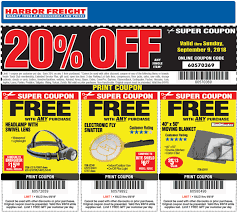 Harbor Freight Coupons - 20% Off A Single Item At Harbor Harbor Freight Coupons December 2018 Staples Fniture Coupon Code 30 Off American Eagle Gift Card Check Freight Coupons Expiring 9717 Struggville Predator Coupon Code Cinemas 93 Tools Database Free 25 Percent Black Friday 2019 Ad Deals And Sales Workshop Reference Motorcycle Lift Store Commack Ny For Android Apk Download I Went To Get A For You Guys Printable Cheap Motels In