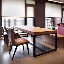 wohnzimmer möbel esstisch und stuhl schmiedeeisen für esszimmer amerikanischen land und tun retro stil