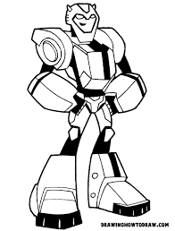Transformers Printable Coloring Pages Cartoon Bumblebee