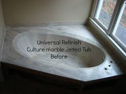 Bathtub Refinishing Dallas Fort Worth by Universal Refinish Before Culture Marble Jetted Tub Refinishing