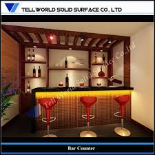 Home Design: X Tw New Design Small Home Corian Bar Counter Tw Mact ... Custom Home Bars Designs Peenmediacom Bar Design Ideas For A Modern Home Bar Room Design Ideas 17 Fabulous Youll Want To Have In Your 80 Top Cabinets Sets Wine 2018 Seductive Mediterrean For Leisure Own Small Counter Interior Basement And Tips Creativity Supple Howard Miller Benmore Valley Cabinet Decor Ipirations