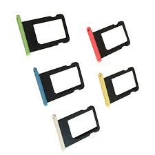 Colorful Sim Card Tray Slot Holder Replacement for Apple iPhone 5C