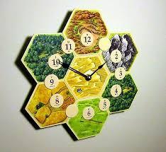 Settlers Of Catan Board Game Clock