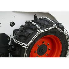 Heavy Duty 10-16.5 Skidsteer Tire Chains, 4 Link Spacing - Walmart.com
