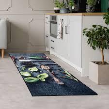 teppichläufer küche waschbar in waschmaschine 3010 60x110