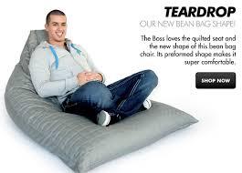 Craftsmanship Proudly Canadian Teardrop Bean Bag Chairs