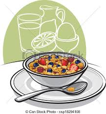 Healthy Breakfast Rh Canstockphoto Com Adult Clip Art Time Items