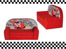 canapé convertible enfant mini canapé lit enfant racingfauteuils poufs matelas meubles enfants