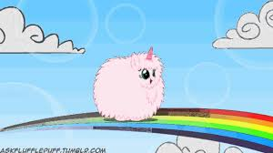 Pink Fluffy Unicorn Dancing On Rainbow 20 Minutes Fluffle Puff Tales