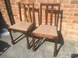 Two Vintage Wooden Dining Chairs | In High Wycombe, Buckinghamshire |  Gumtree Vintage Props Lolliprops Event Prop Fniture Hire Reclaimed Barn Wood Chair From Dutchcrafters Amish Wooden Ding Chairs With Leather Seats Tempting Style Types Of Antique Maple Bentwood By French Living Room Luxury Curved Back Solid Buy Chairwood Chairvintage Interior Design Ideas House Hipsters Captains Best Captain In Old Wooden Chair Farmhouse Farm Life Farmhouse Chairs Old Pair Windsor Decordots Ding Room Table Alvar Aalto Antique Study365online 8 1880 Hunting Carved Oak Canefabric