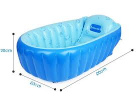 Inflatable Bathtub For Babies by Summer Portable Large Baby Toddler Inflatable Bathtub Thick