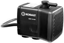 Ridgid Tile Saw Water Pump by Kb9399 Kobalt Universal 50gph Wet Tile Saw Water Pump 884005620117