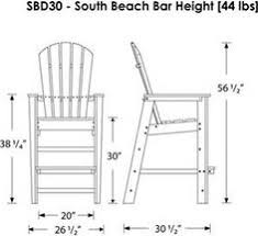 bar height adirondack chair plans google search benches and