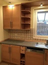 gebrauchte ikea küche buche ca 320 cm x 280 cm inkl neff