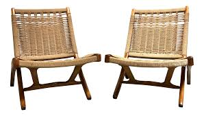 Mid Century Danish Modern Hans Wegner Style Folding Rope Chairs—a Pair Vintage Mid Century Modern Folding Rope Chairs In The Style Of Hans Wegner 1960s Danish Bench Vonvintagenl Catalogus Roped Folding Chairs Yugoslavia Edition Chair Restoration And Wood Delano Natural Teak Outdoor Midcentury Pair Cord And Ebert Wels The Conran Shop