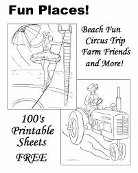 Fun Coloring Book Pages Sheets And Pictures