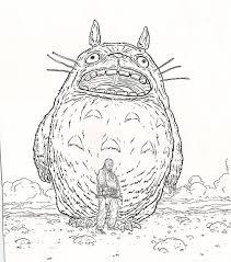 Totoro Pumpkin Pattern by Totoro U2014 Geof Darrow U2013 Biblioklept